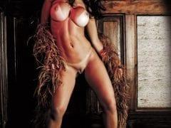 Sandy Peituda na Revista Sexy