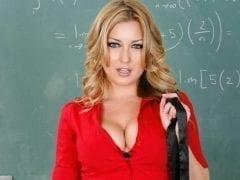 Sexo com a professora coroa