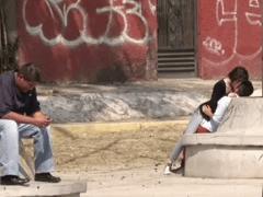 Novinha Gostosa é Enrolada por Tiozão num Parque Publico e Dá para Ele em Porno Caseiro