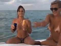 Casais Reais Fazendo Swing Real em Vídeo Porno Amador Real em Escuna da Putaria e Swing