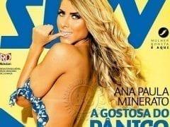 Revista Sexy De Agosto de 2014 – Ana Paula Minerato