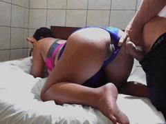 Caiu na Net Video de Casal Amador do Rio de Janeiro Fazendo Porno Amador Depois da Academia