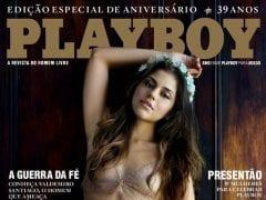 Playboy Mês de Agosto de 2014 Edição Especial 39 Anos – Jéssica Alves