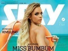 Revista Sexy do Mês de Janeiro de 2015 – Indianara Carvalho