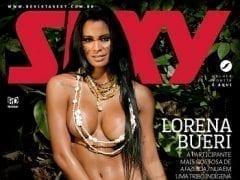 Revista Sexy Mês de Fevereiro de 2015 – Lorena Bueri