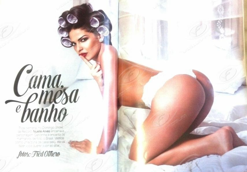 Revista Playboy M S De Fevereiro Nuelle Alves A Dona