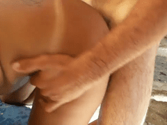 Taradão Faz Porno Amador no Jardim de Inverno da Casa de Amigos Com Esposa Deliciosa Demais