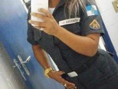 Contribuição Amadora Nacional – Mais uma Policial Militar do Rio de Janeiro que Vazou no WhatsApp