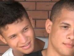 Caiu na Net Video Porno Gay de Jonny e Luan a Primeira Foda Gay de Garoto Hétero