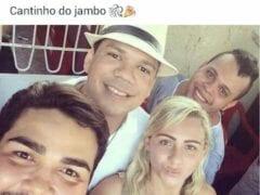 Flagra Amador Real Brasileiro da Alexssandra Holanda de Teresina – PI Perdendo a Linha em Trio