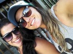 Vazou no WhatsApp Vídeo Caseiro das Amigas Brenda Prado e Aline Piriquita de Minas Gerais Transando – 1