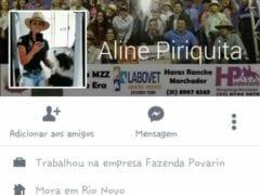 Aline Piriquita do Rio Novo – MG Em Fotos Caseiras Metendo Gostoso Com Amigo