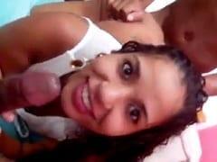 Caiu na Net Vídeo de Suruba Amadora Com a Mayara de Campos dos Goytacazes – RJ Trepando Com Seus Dois Primos Bêbada
