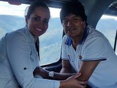Contribuição Caseira Nacional – Caiu na Net Fotos Nuas da Suposta Amante do Evo Morales e Vereadora da Bolívia Susana Vaca Concejal