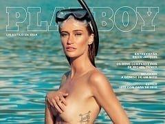 Revista Brasileira Grátis – A Top Model Vivi Orth na Revista Playboy de Maio de 2016