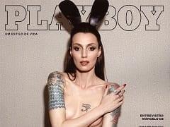 Revista Brasileira Grátis – A Modelo Marina Dias na Revista Playboy de Julho de 2016