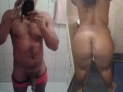 Tesão de Morena Vai Pro Motel Com Seu Namorado e Grava um Pornô Amador Completo Com Direito a Chupada e Muito Sexo – RJ