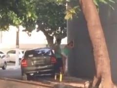 Casal é Flagrado Transando na Rua Após a Virada do Ano em Uma Rua Deserta de Cabo Frio – RJ e Vídeo Para na Web – Caiu na Net