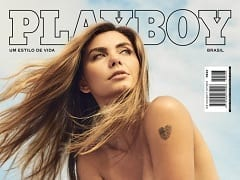 Revista Brasileira Grátis – Leticia Datena na Playboy de Abril de 2017