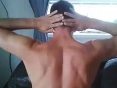 Gay Sarado de Bragança Paulista – SP Gozou Levando Pirocada no Seu cu Apertado e Tarado Ainda Gravou um Vídeo Amador