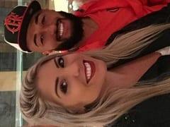 Mais um Vídeo da Tayrine Esposa do Muralha Goleiro do Flamengo Dessa Vez Rebolando Seu Rabo e se Exibindo Pelada no Quarto