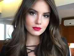 Atriz Global Camila Queiroz Vazou na Net em um Suposto Vídeo Íntimo, Transando Com um Empresário e Gemendo Muito de Prazer – 2