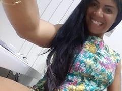 Milene Santos Morena Gostosa de Dracena – SP Teve Fotos Íntimas Vazadas na Net Onde Mostrava Sua Bucetinha Deliciosa