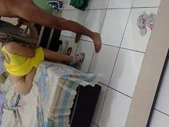Raquel Esposa Gostosona de Guarujá – SP Fez um Vídeo Pornô Caseiro Chupando a Rola do Marido e Depois Liberando Seu Cu Apertado