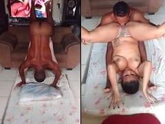Pescador Trepa Com Suas Duas Putas em Posição de Kama Sutra e Já dá Uma Cambalhota Pra Cair Chupando a Bucetinha Delas – Caiu na Net