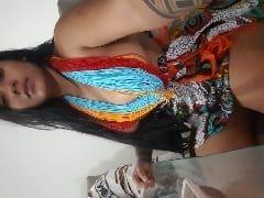 Ayara Amadora Cavala Estilo Indiazinha Registrou Várias Fotos Peladinha Exibindo Sua Rabeta Gigante Fora do Padrão e Parou na Web – SP