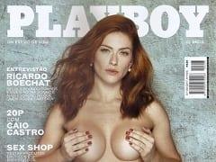 Revista Brasileira Grátis – Renata Longaray na Revista Playboy de Inverno de 2017