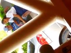 Ninfetinha Safada de Nova Iguaçu – RJ Ficou Tocando Uma Punheta Pro Seu Ficante no Meio da Rua Mas Foi Flagrada Por Morador – Caiu na Net