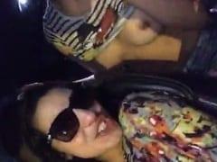 """""""Mostra o Que o Buru Perdeu"""" Malandro Filmou as Duas Gostosas Mostrando os Peitos e Perdendo a Linha no Carro Botando Inveja no Amigo – Caiu na Net"""