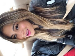 Ally Brooke Cantora Gostosa do Grupo Fifth Harmony Usou um Maiô em Premiação Acabou Aparecendo Parte da Sua Buceta ao Vivo