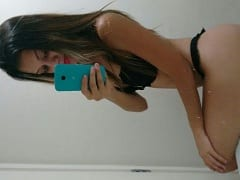 Sabrina Sandy Novinha Mineira Muito Gostosa Tirou Fotos Ousadas e Pelada Pra Mandar Pro Ficante, Mas Parou na Net