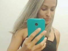 Dani Loirinha Ninfeta Deliciosa de Jacarepaguá – RJ Tirou Fotos Peladinha Mostrando Sua Buceta, Mandou Pro Ficante e Parou na Web