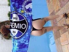 Jeannie Grey Gremista Muito Tesuda de Pelotas – RS Que é CamGirl Gravou Vídeos se Exibindo Peladinha Mostrando Seus Peitões Deliciosos
