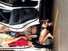 Três Amigas Gostosas Foram Flagradas Mijando na Rua já de Manhã Depois de Uma Balada no Rio de Janeiro – Caiu na Net