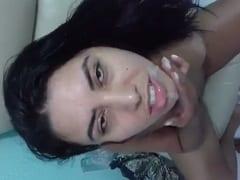 Viviane Puta Amadora Tomou um Gozadão na Boca Depois de Foder Gostoso e Ainda Mandou Beijo Cheia de Porra na Boquinha – Amadores