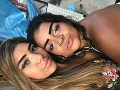 Carla e Tati Duas Baianas Deliciosas Fizeram um Ménage Com Empresário e Malandro Ainda Gravou um Vídeo da Putaria Com Elas – BA