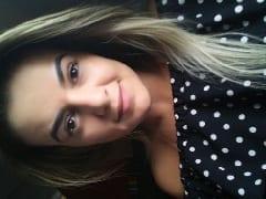Bruna Angel Gostosa Espetacular de Goiânia – GO Que é Modelo Erótica Ficou Toda Vermelhinha Tomando Tapas Enquanto Quicava no Namorado