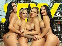 Revista Brasileira Grátis – Musas do Futebol na Revista Sexy de Novembro de 2019