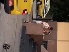 Carnaval 2020: Loirinha safada foi flagrada dando sua bucetinha de quatro em plena luz do dia nas ruas do RJ – amadores